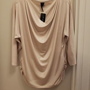 Chiassa shimmery off white blouse